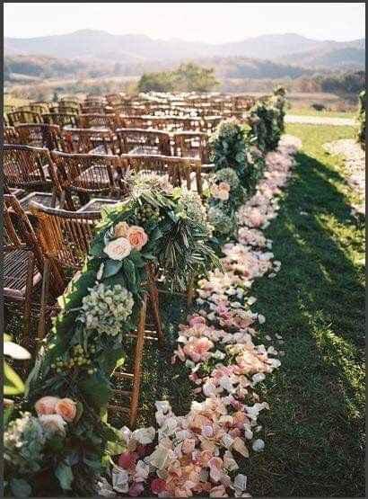 Ideas de decoración de boda en Jardín 13
