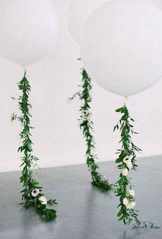 Ideas de decoración de boda en Jardín 16