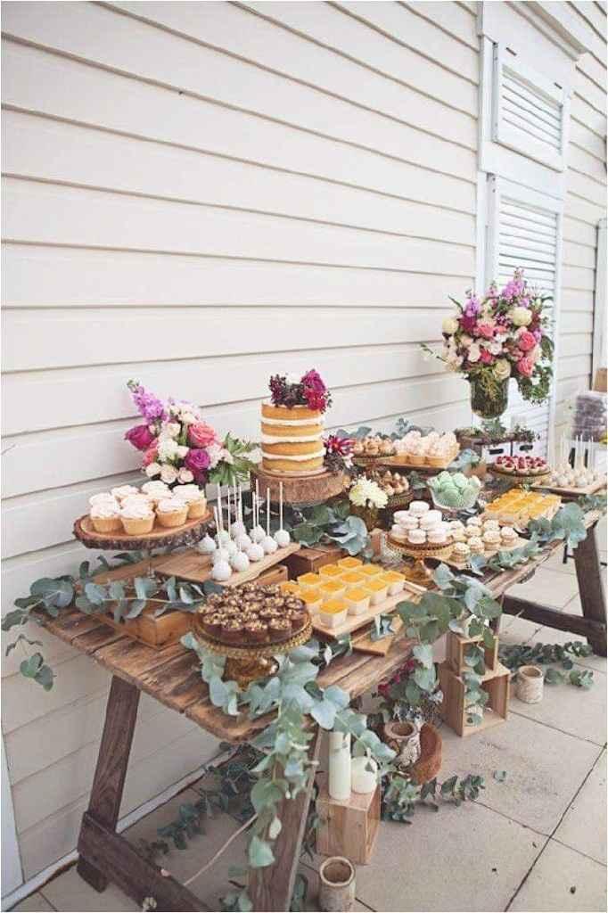 Ideas de decoración de boda en Jardín 28