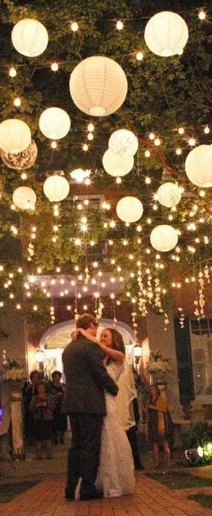 Ideas de decoración de boda en Jardín 33