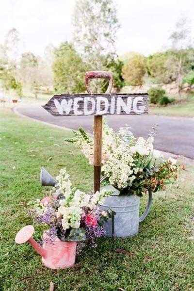 Ideas de decoración de boda en Jardín 35