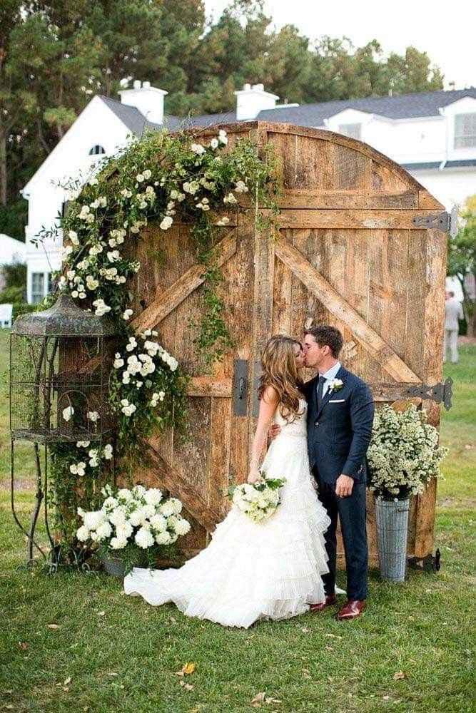 Ideas de decoración de boda en Jardín 36