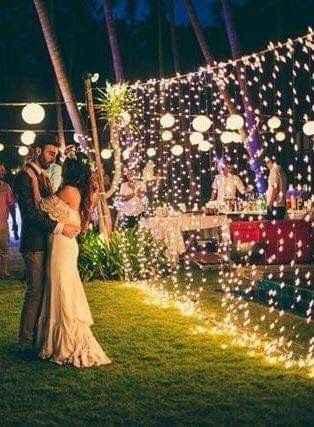 Ideas de decoración de boda en Jardín 37