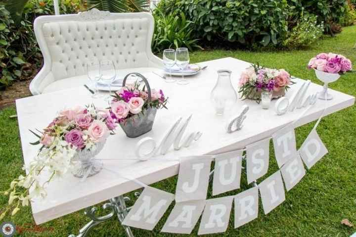 Ideas de decoración de boda en Jardín 40