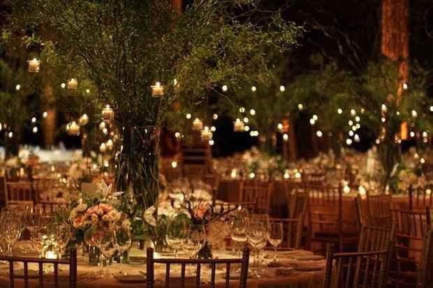 Ideas de decoración de boda en Jardín 42