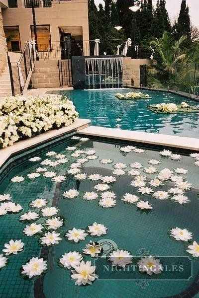 Ideas de decoración de boda en Jardín 44