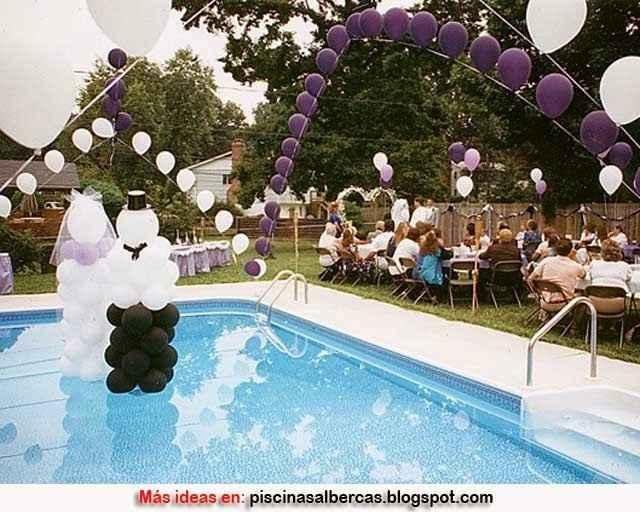 Ideas de decoración de boda en Jardín 46