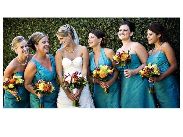 Casamiento en color turquesa 1