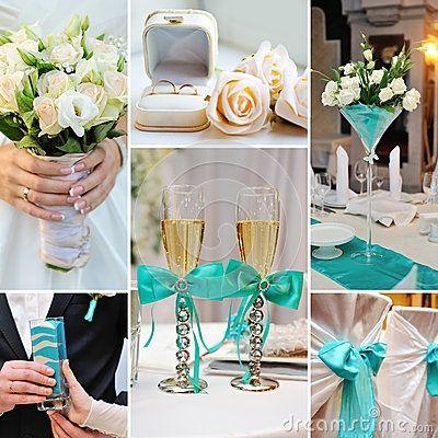 Casamiento en color turquesa 4