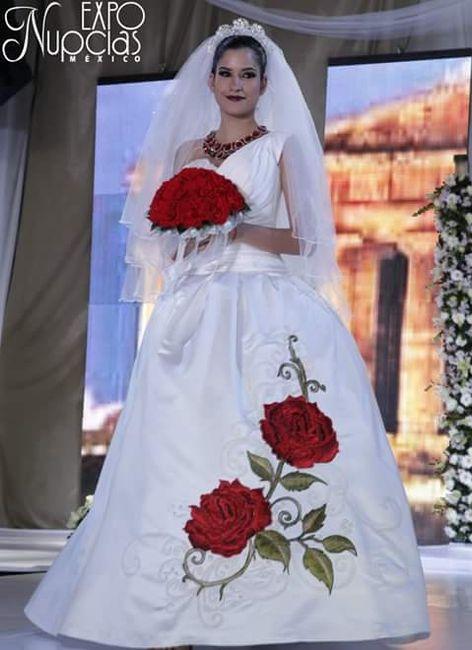 Buscando por la red me encontre unos lindos modelos de vestidos de novia muy a la mexicana. Ustds cual elegirían? A mi me gusto mucho el 2 y el 6.