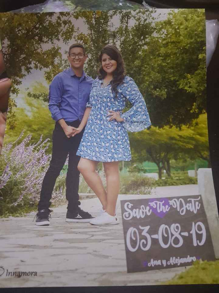 Fotos save the date💜 - 5
