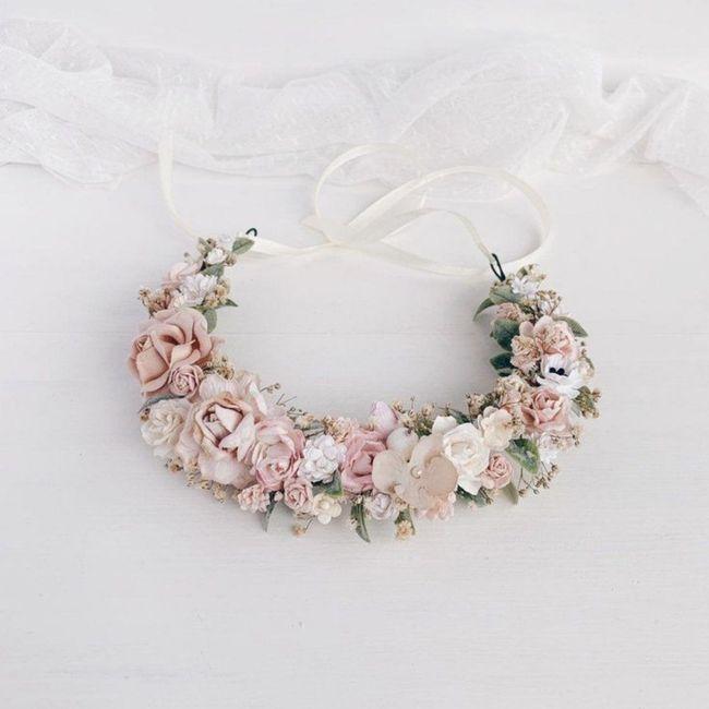 Corona de flores 🌼🌺💮 - 1