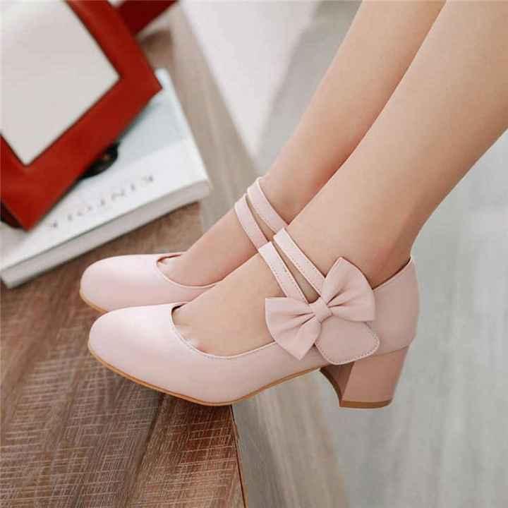 ¿Qué zapatos te gustaría llevar el día de tu boda? - 1