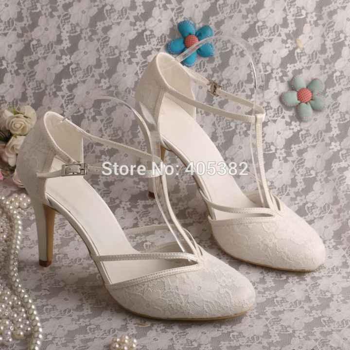 ¿Qué zapatos te gustaría llevar el día de tu boda? - 2