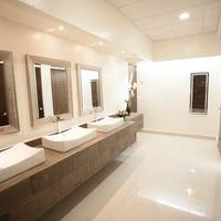 Baños del salón