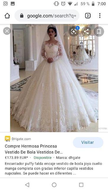 """[JUEGO] Si Googleas """"Vestido de novia""""... - 1"""