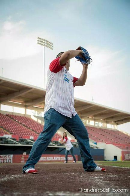 Mi Save the Date Baseball  - 2