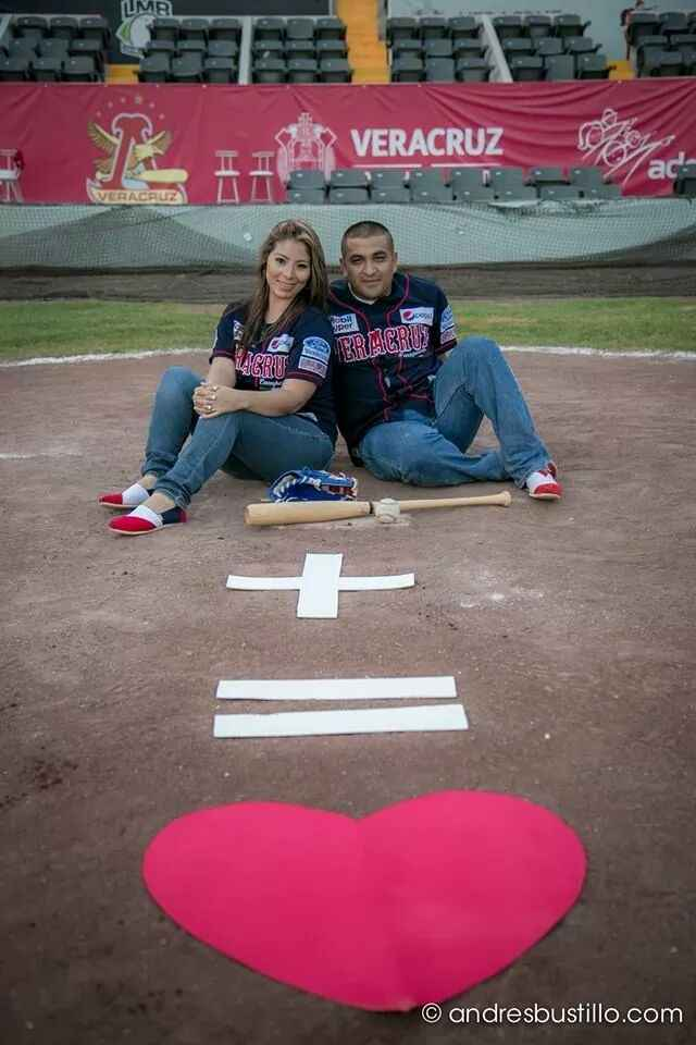 Mi Save the Date Baseball  - 11