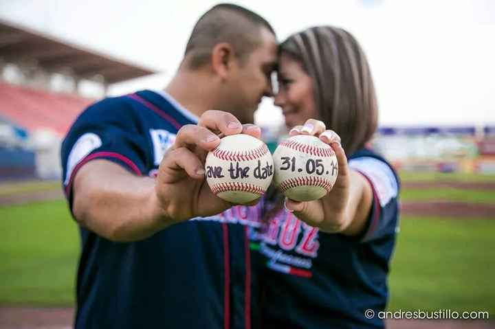 Mi Save the Date Baseball  - 13