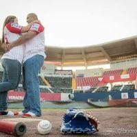 Mi Save the Date Baseball  - 1