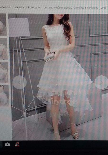 El vestido de boda civil debe ser blanco