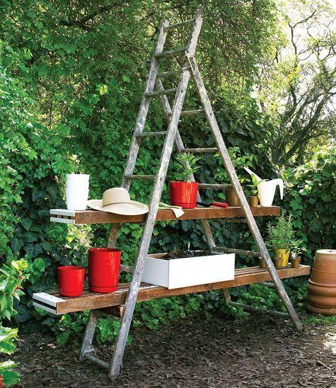 Escaleras jardineras