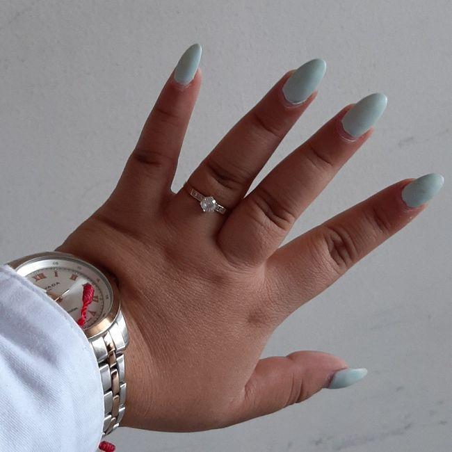 Mi anillo de compromiso- Karla - 1