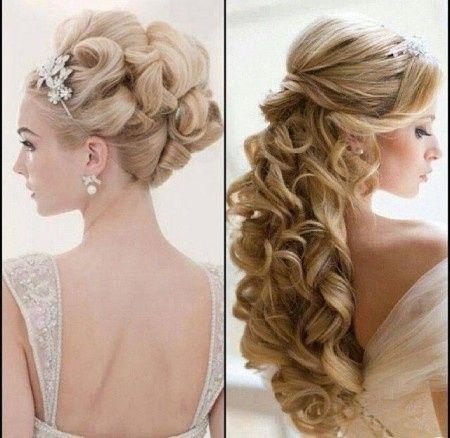 Peinado suelto o recogido foro belleza - Peinados de novia con flequillo ...