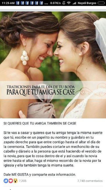 e65164c9e4765 Espero y les sirva de mucho  tradiciones de la boda - Foro Antes de ...