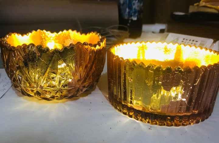 Copas y porta velas - 1