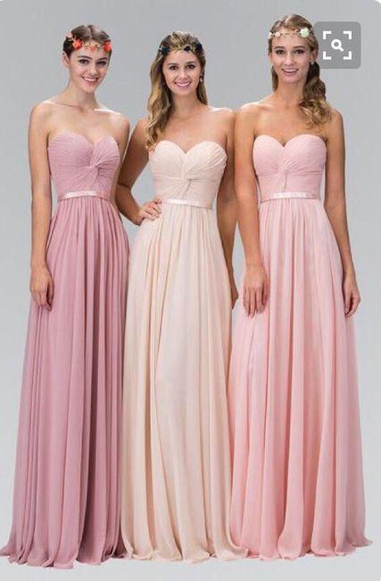 Vestidos de damas de honor - Foro Organizar una boda - bodas.com.mx