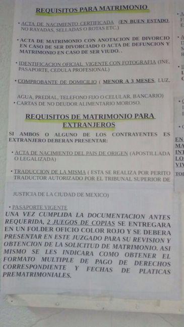 Civil -delegación Venustiano Carranza - Foro Antes de la boda ...