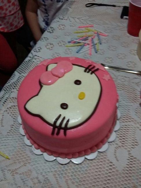 Cual es el costo aproximado para el pastel??? - 1