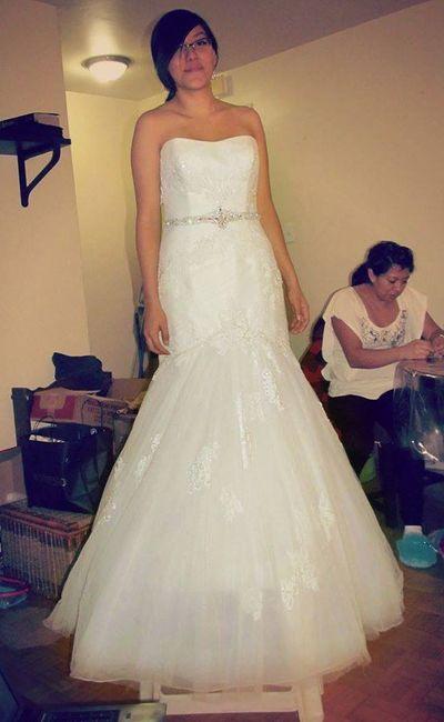Los tipos de tul mas habituales para el vestido de novia 1