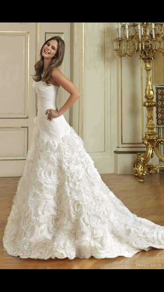 Cómo sera sus vestidos de novia - 1