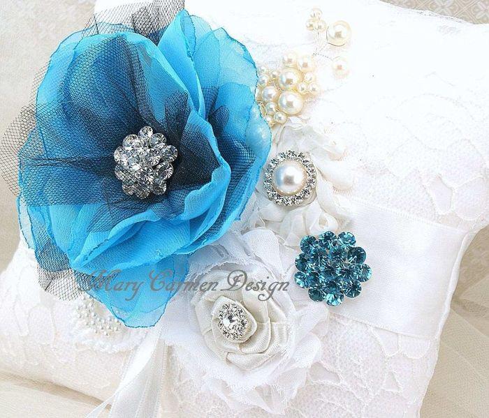 Cojines para la ceremonia religiosa foro manualidades - Cojines para cama matrimonio ...