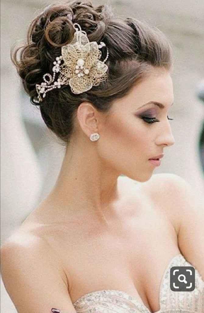 Peinados con tiara - 2