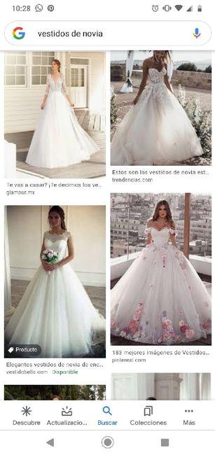"""[JUEGO] Si Googleas """"Vestido de novia""""... 8"""