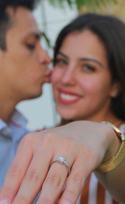 ¿Verdad que el anillo de compromiso si es lo mejor del mundo? 11