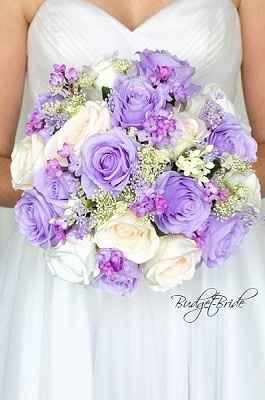 ramos en tonos lilas y morados - 2