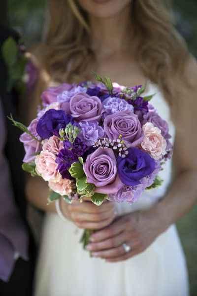 ramos en tonos lilas y morados - 4