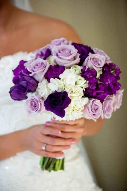 ramos en tonos lilas y morados - 5