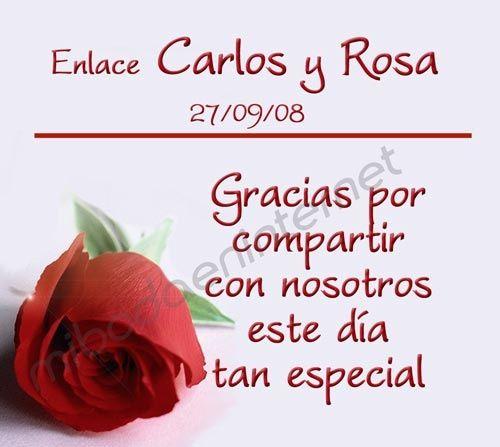 Tarjetas de agradecimiento - Foro Ceremonia Nupcial - bodas.com.mx