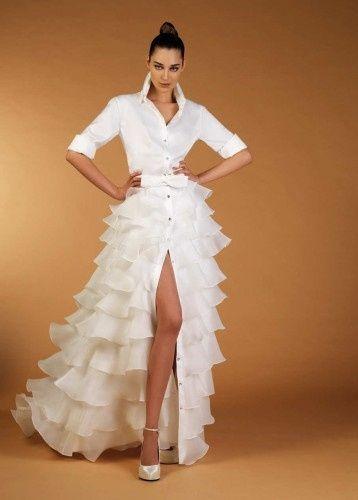 Vestido formal de sastre