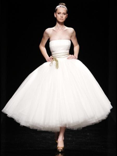 Vestidos novia estilo bailarina
