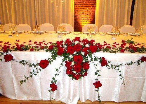 Decoración de la mesa principal - Foro Yucatán - bodas.com.mx