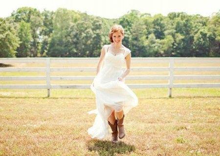 Fotos de vestidos de novia vaqueros
