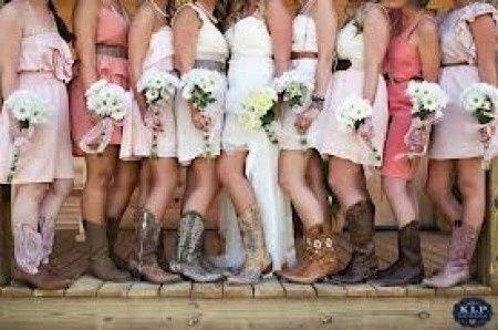 Vestidos para boda vaquera