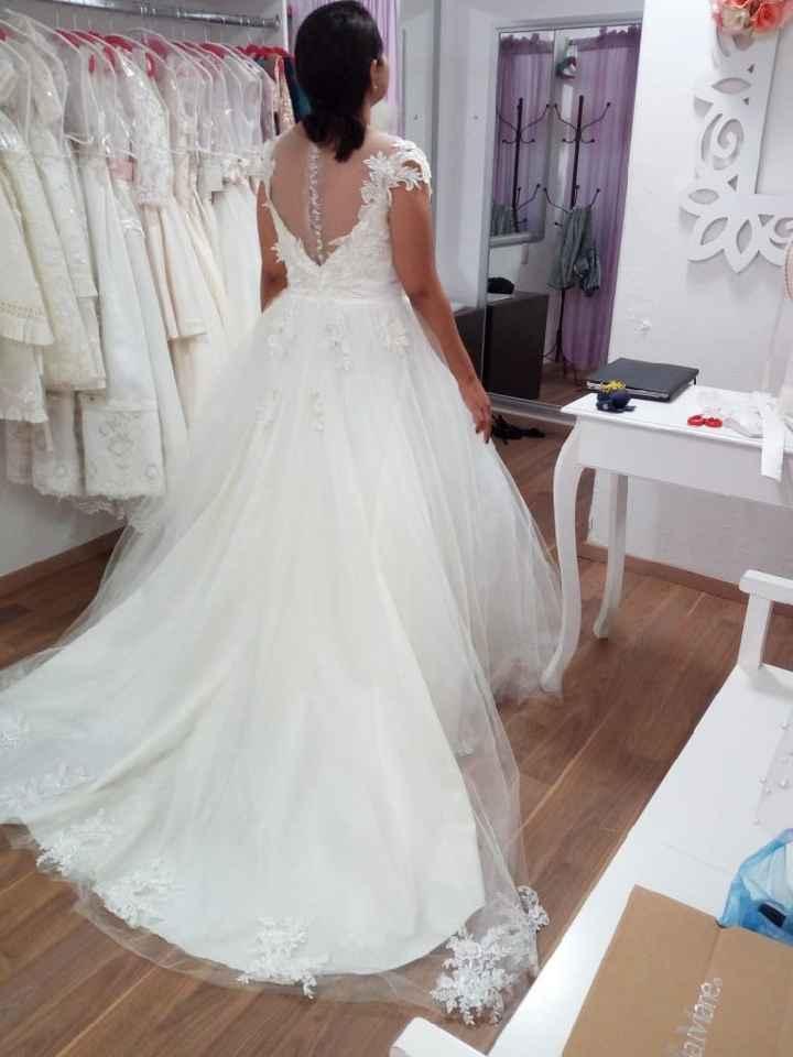 Prueba 1 de vestido 💗 - 1
