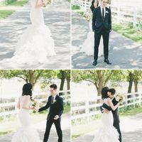 sesion de fotos con el vestido antes de la boda - 2